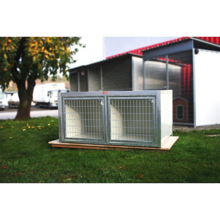 [RK275] BOXĂ PENTRU DRESAJ 2 BOXE (LxBxH:95x75x75cm)