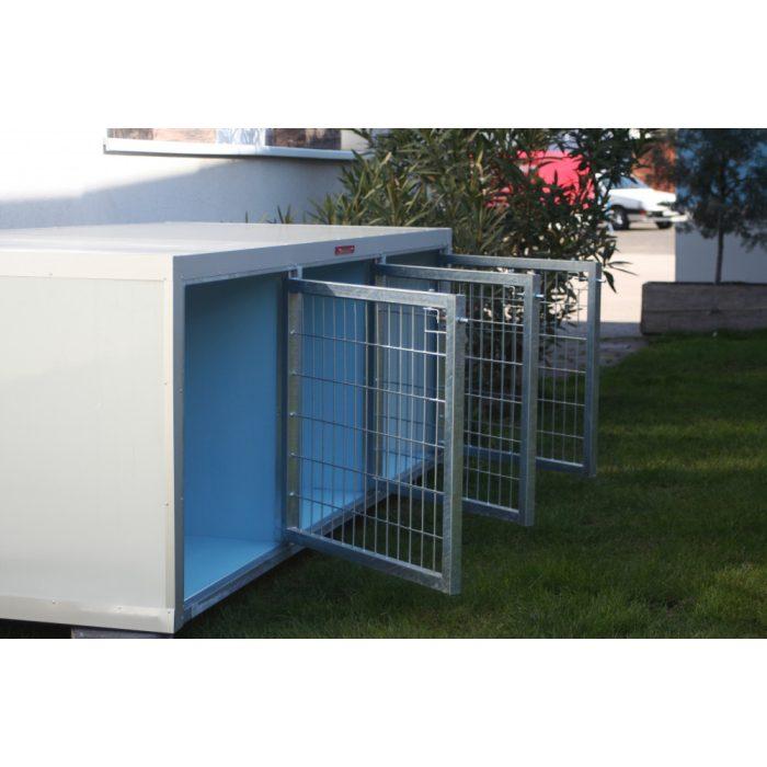 [RK375] BOXĂ PENTRU DRESAJ 3 BOXE  (LxBxH:95x75x75cm)